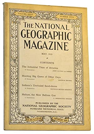 The National Geographic Magazine, Volume 35, Number 5 (May, 1919)