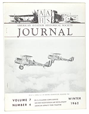American Aviation Historical Society Journal, Volume 7, Number 4 (Winter 1962)