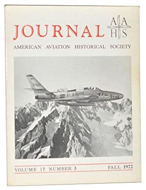 American Aviation Historical Society Journal, Volume 17, Number 3 (Fall 1972)