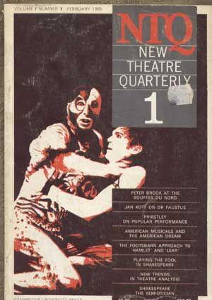 NTQ: New Theatre Quarterly, Volume 1, Number: Barker, Clive; Trussler,