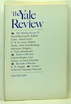 The Yale Review, Volume 73, Number 2: Erikson, Kai (ed.);