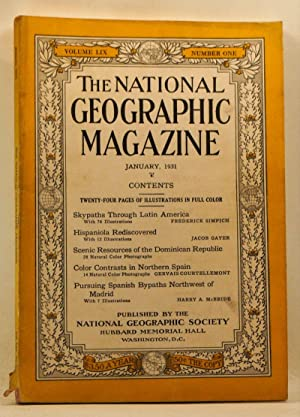 The National Geographic Magazine, Volume 59, Number 1 (January 1931)