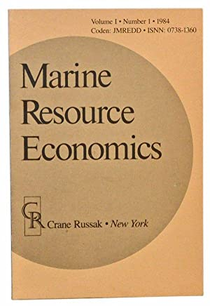 Marine Resource Economics, Volume 1, Number 1 (1984)