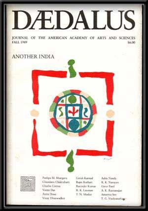 Daedalus: Journal of the American Academy of Arts & Sciences, Fall 1989; Another India (Vol. 118,...