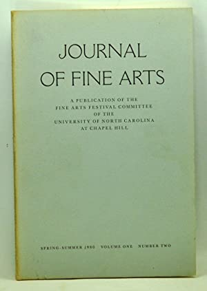 Journal of Fine Arts: A Publication of the Fine Arts Festival Committee of the University of Nort...