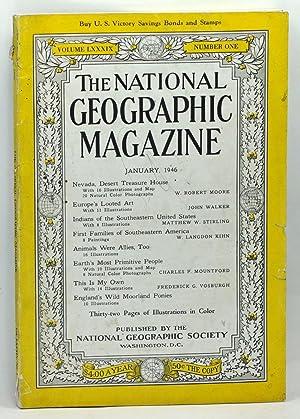 The National Geographic Magazine, Volume 89 Number: Grosvenor, Gilbert (ed.);