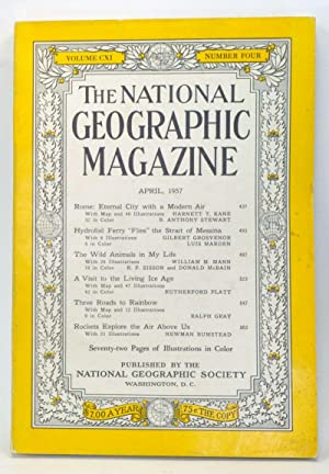 The National Geographic Magazine, Volume CXI, Number: Grosvenor, Melville Bell