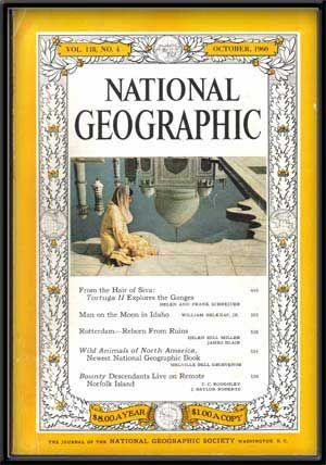 The National Geographic Magazine, Volume 118, No. 4 (October 1960)