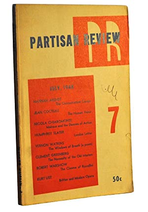 The Partisan Review, Volume 15, Number 7 (July 1948)