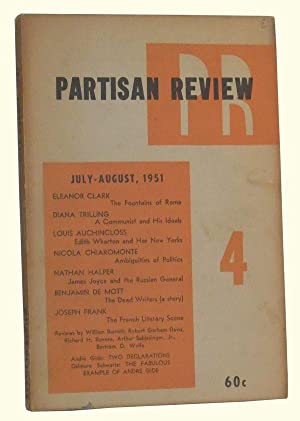 The Partisan Review, Volume 18, Number 4 (July-August 1951)