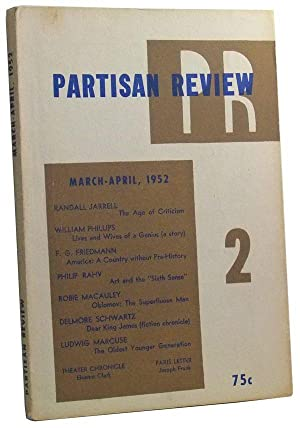 The Partisan Review, Volume 16, Number 4 (March-April 1952)