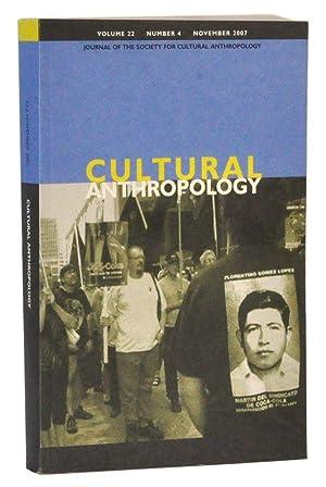 Cultural Anthropology, Volume 22, Number 4 (November: Fortun, Kim (ed.);