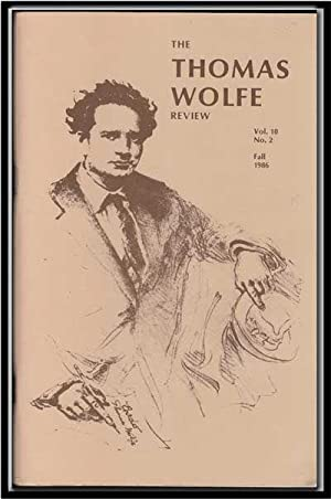 The Thomas Wolfe Review, Vol. 10, No.: Phillipson, John S.