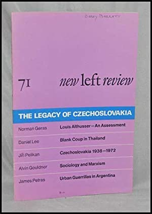 New Left Review, 71 (January-February 1972) : the Legacy of Czechoslovakia