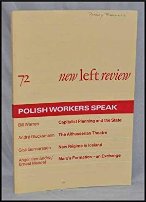 New Left Review, 72 (March-April 1972) : Polish Workers Speak