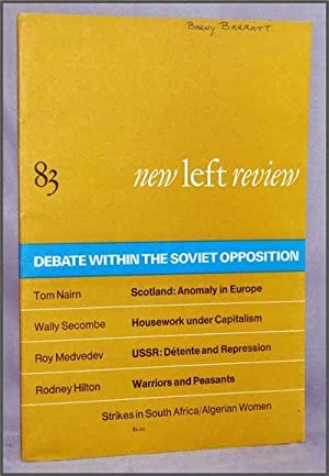 New Left Review, 83 (January-February 1974) : Debate Within the Soviet Opposition