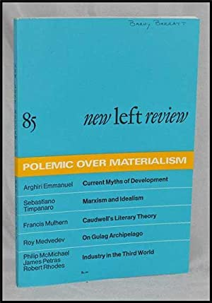 New Left Review, 85 (May-June 1974) : Polemic over Materialism