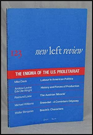 New Left Review, 123 (September-October 1980) : the Enigma of the U. S. Proletariat