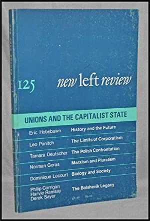 New Left Review, 125 (January-February 1981) : Unions and the Capitalist State