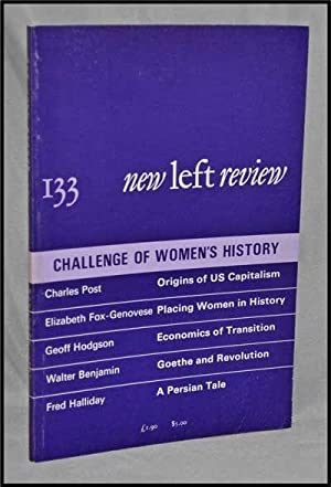 New Left Review, 133 (May-June 1982) : Challenge of Women's History