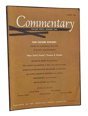 Commentary: Vol. 40, No. 2 (August 1965)