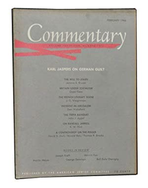 Commentary: Vol. 41, No. 2 (February 1966)