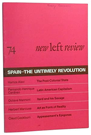 New Left Review Number 74 (July-August 1972)