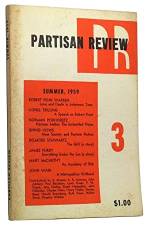 The Partisan Review, Volume 26, Number 3 (Summer, 1959)