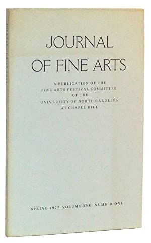 Journal of Fine Arts: A Publication of: Beck, Patricia (ed.);