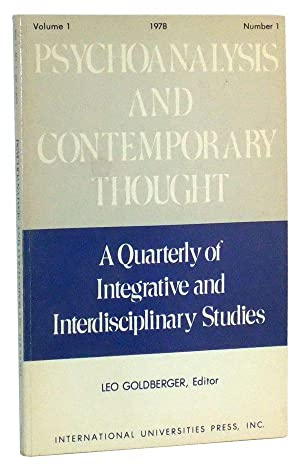 Psychoanalysis and Contemporary Thought: A Quarterly of: Goldberger, Leo (ed.);