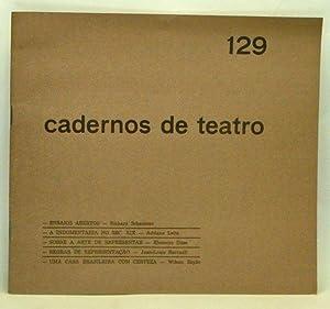 Cadernos de teatro Nº 129 (Abril, Maio,: Nunes, João Sérgio