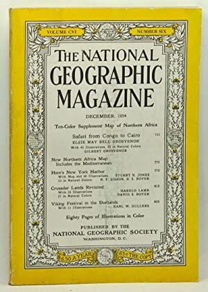 The National Geographic Magazine, Volume 106, Number 6 (December 1954)