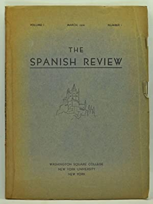 The Spanish Review: A Journal Devoted to: Matulka, Barbara (ed.);
