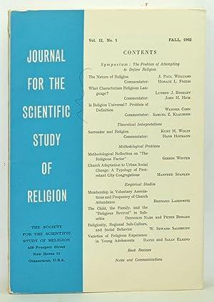 Journal for the Scientific Study of Religion,: Pemberton, Prentiss L.