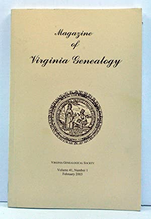 Magazine of Virginia Genealogy, Volume 41, Number: Little, Barbara Vines