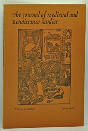 The Journal of Medieval and Renaissance Studies,: Tetel, Marcel (ed.);