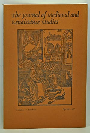 The Journal of Medieval and Renaissance Studies,: Patterson, Annabel (ed.);