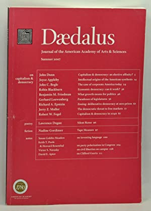 Daedalus: Journal of the American Academy of Arts & Sciences, Summer 2007: On Capitalism & Democr...