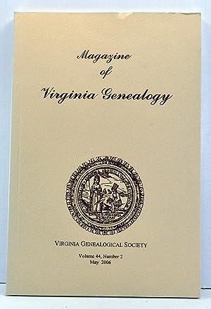 Magazine of Virginia Genealogy, Volume 44, Number: Little, Barbara Vines