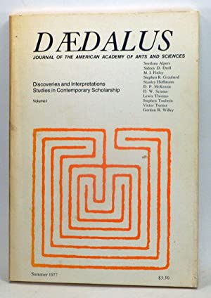 Daedalus: Discoveries and Interpretations Studies in Contemporary Scholarship; Journal of the Ame...