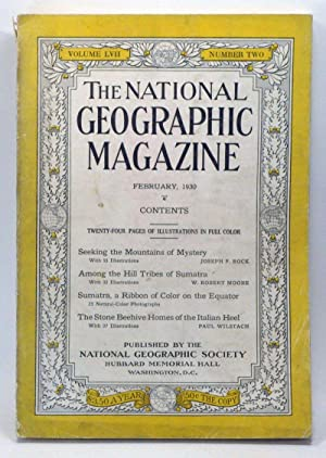 The National Geographic Magazine, Volume 57, Number 2 (February 1930)