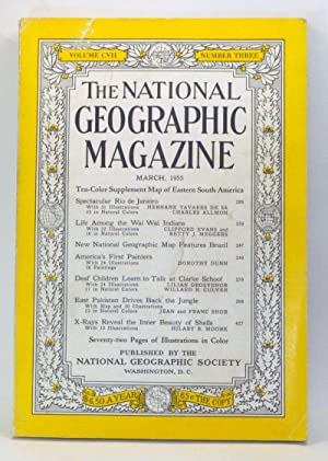 The National Geographic Magazine, Volume 107, Number: Grosvenor, Gilbert H.