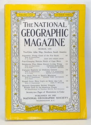 The National Geographic Magazine, Volume 113 Number 3 (March 1958)