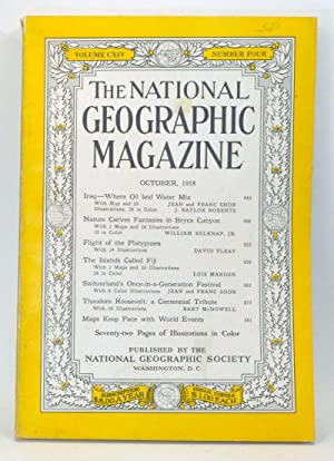 The National Geographic Magazine, Volume 114, Number: Grosvenor, Melville Bell