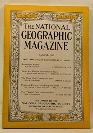 The National Geographic Magazine, Volume 72, Number 2 (August 1937)