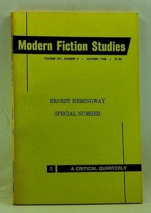 Modern Fiction Studies MFS: A Critical Quarterly,: Beebe, Maurice (ed.);