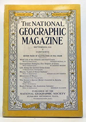 The National Geographic Magazine, Volume 62, Number 3 (September 1932)