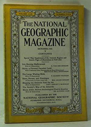 The National Geographic Magazine, Volume 62, Number 4 (October 1932)