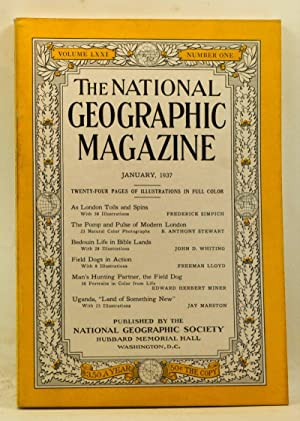 The National Geographic Magazine, Volume 71, Number: Grosvenor, Gilbert (ed.);