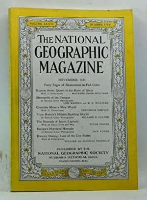 The National Geographic Magazine, Volume 76, Number 5 (November 1939)